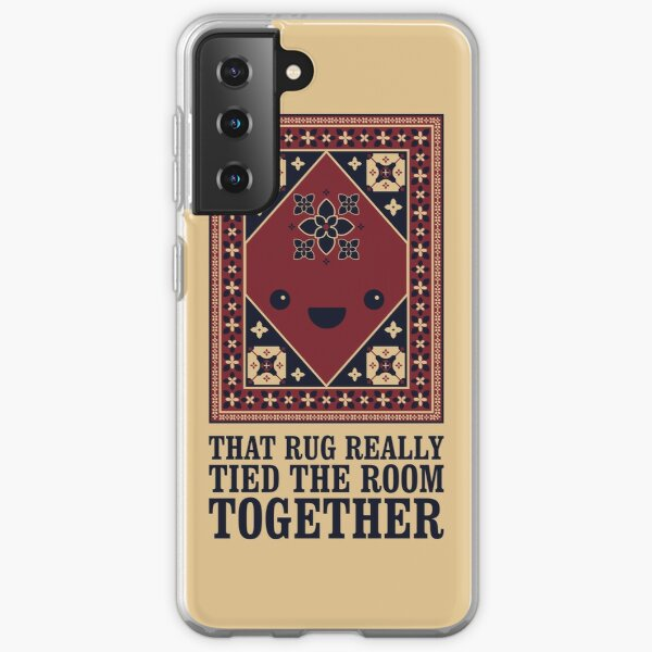 The Big Lebowski - Rug - That Rug Really Tied The Room Together Samsung Galaxy Soft Case