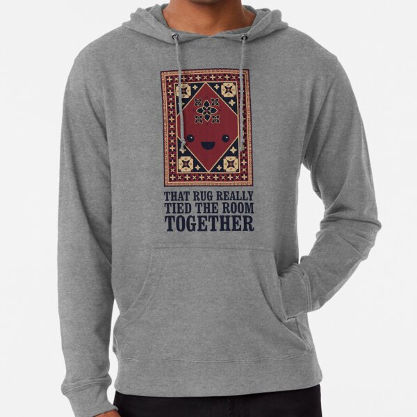 The Big Lebowski - Rug - That Rug Really Tied The Room Together Lightweight Hoodie