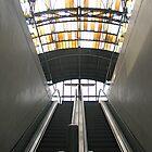 Modern style beneath historic roof in Prague by Ian Ker