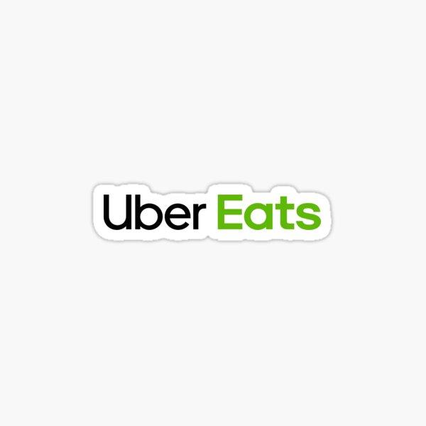 Uber Eats Driver Uniform Light Sticker