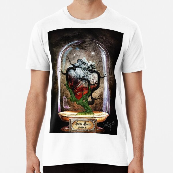 Stone Heart phase 2 - Cabinet of curiosities Premium T-Shirt