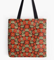 Nasturtium red Tote Bag