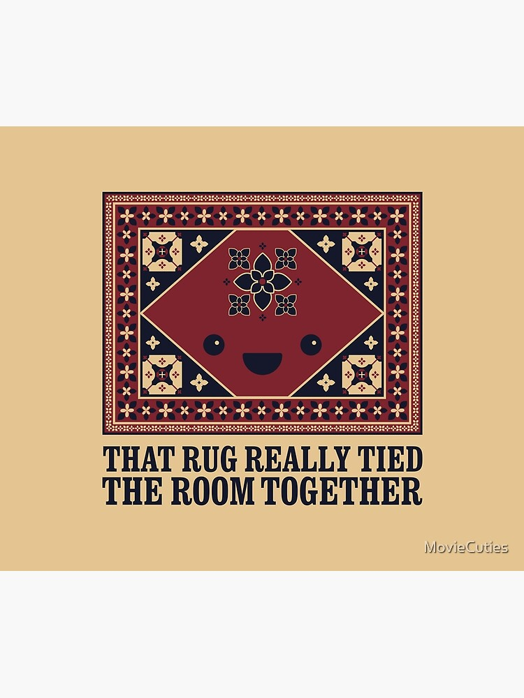 The Big Lebowski - Rug - That Rug Really Tied The Room Together by MovieCuties
