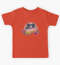Hot Wheels to the Future Kids Tee