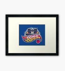 Hot Wheels to the Future Framed Print