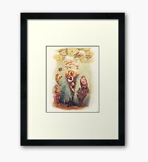 BELOW THE SURFACE Framed Print