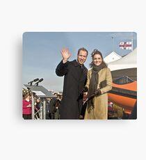 Prince William and Catherine Metal Print