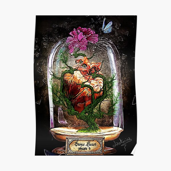 Stone Heart phase 3 - Cabinet Of Curiosities Poster
