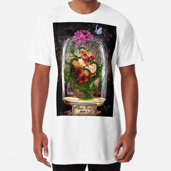 Stone Heart phase 3 - Cabinet Of Curiosities Long T-Shirt