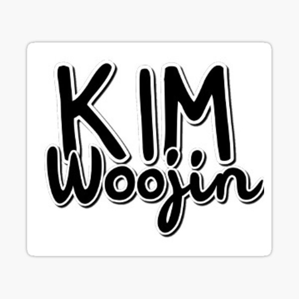 Niños perdidos Kim Woojin Pegatina