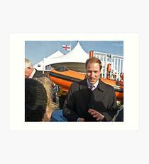 "Prince William meets ""almaalice"" Art Print"