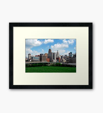 Cincinnati SkyLine 2 Framed Print