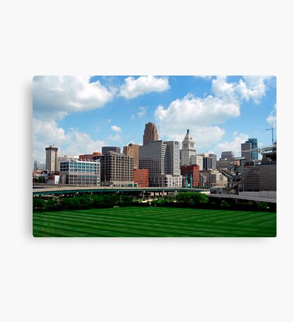 Cincinnati SkyLine 2 Canvas Print