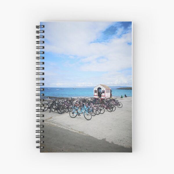 Inis Oirr, Aran Islands, Ireland  Spiral Notebook