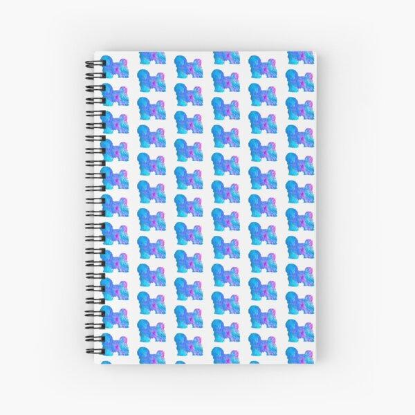 Havanese SIlhouette Spiral Notebook