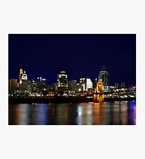 Cincinnati SkyLine 4 Photographic Print