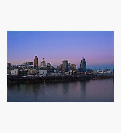 Cincinnati SkyLine 5 Photographic Print