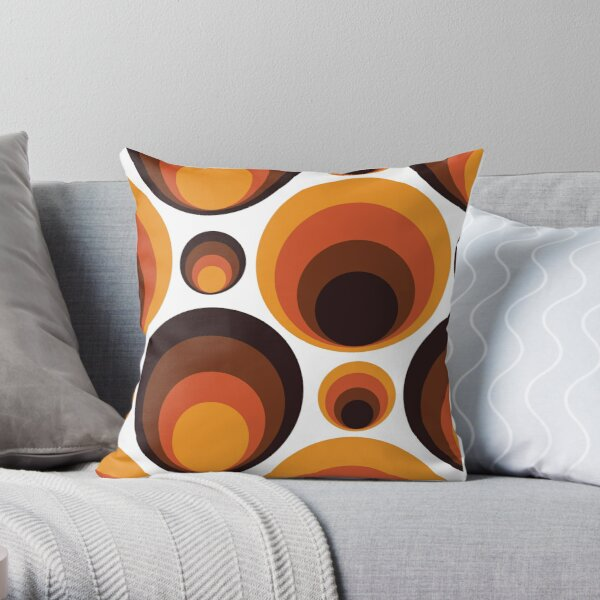 Rebirth Of The 70's No. 1 Throw Pillow