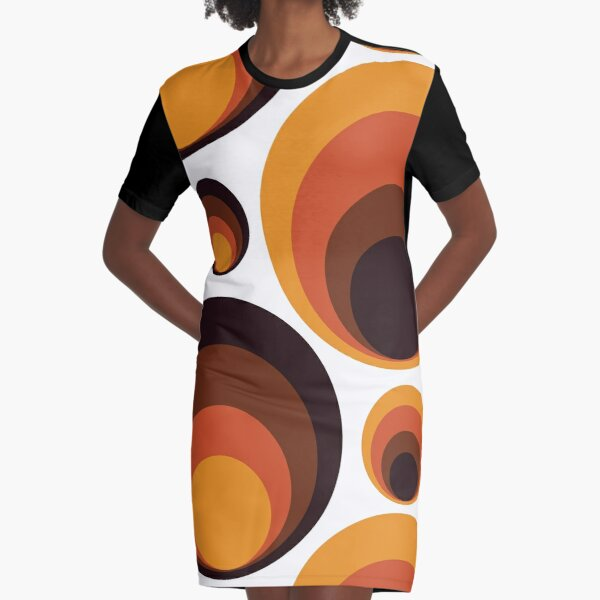 Rebirth Of The 70's No. 1 Graphic T-Shirt Dress