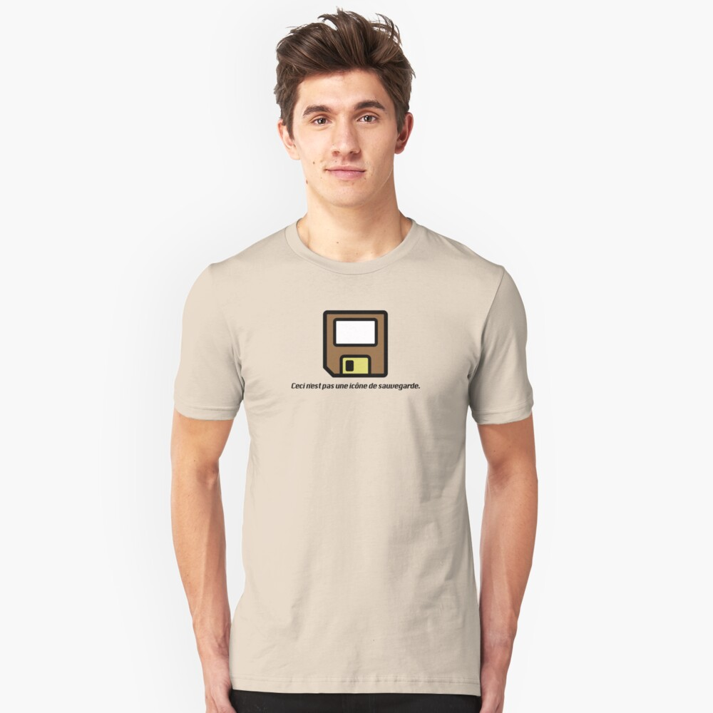 This is not a save icon. Slim Fit T-Shirt