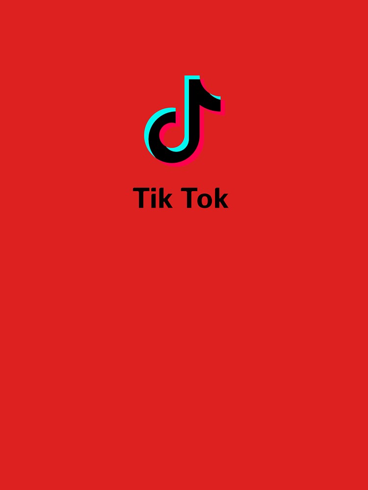 """tik tok branding"" T-shirt by 8DXI | Redbubble"