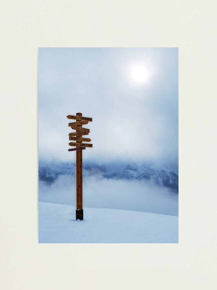 Alternate view of Top of the World Photographic Print