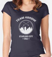 Team Arrow Women's Fitted Scoop T-Shirt