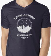 Team Arrow Men's V-Neck T-Shirt