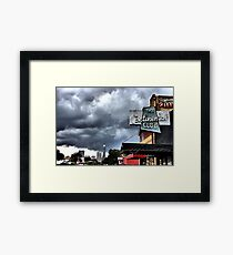 The city that holds my heart... Framed Print