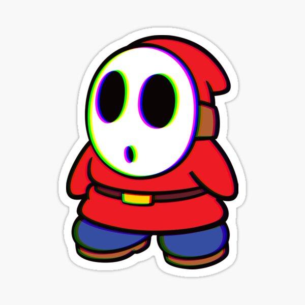 3D Shy Guy Sticker