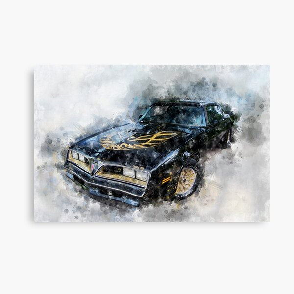 1977 Pontiac Firebird Trans Am Canvas Print
