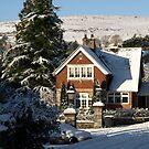 Sunny Snowy Inner Lodge - Moorhaven, South Dartmoor by moor2sea