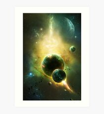 White Dwarf Explosion Art Print
