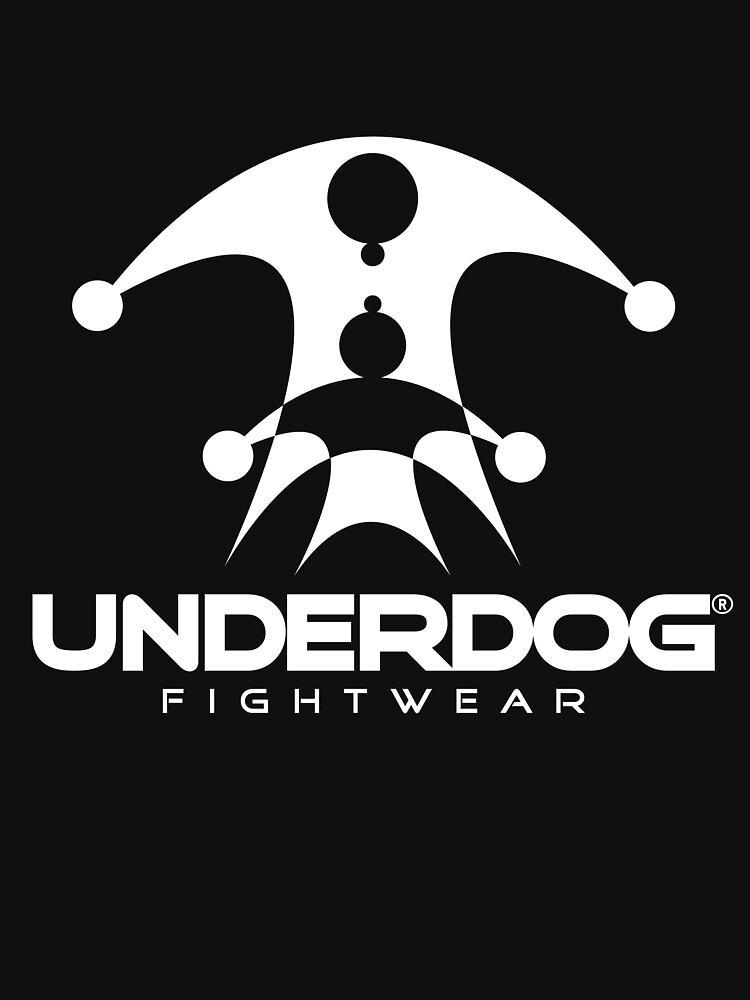 UNDERDOG logo tee, dark by Underdogg