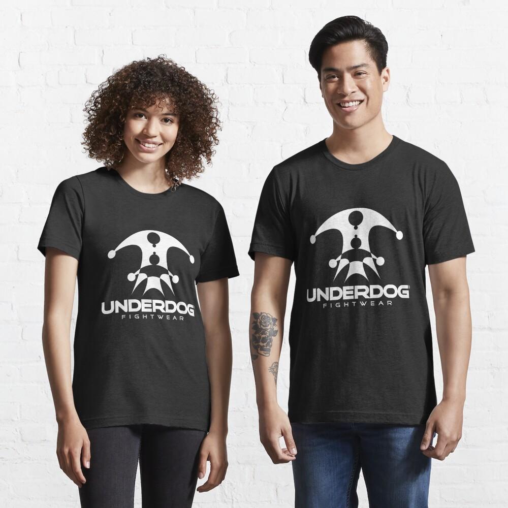 UNDERDOG logo tee, dark Essential T-Shirt