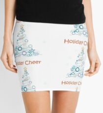 Holiday Cheer Christmas Tree Mini Skirt