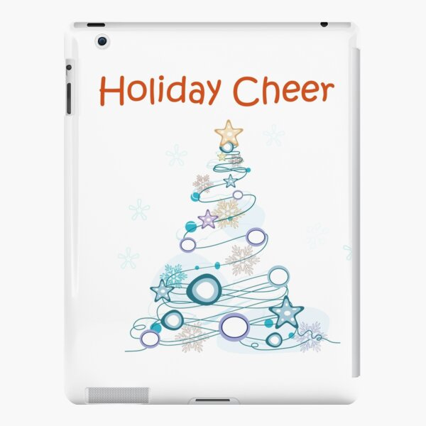 Holiday Cheer Christmas Tree iPad Snap Case