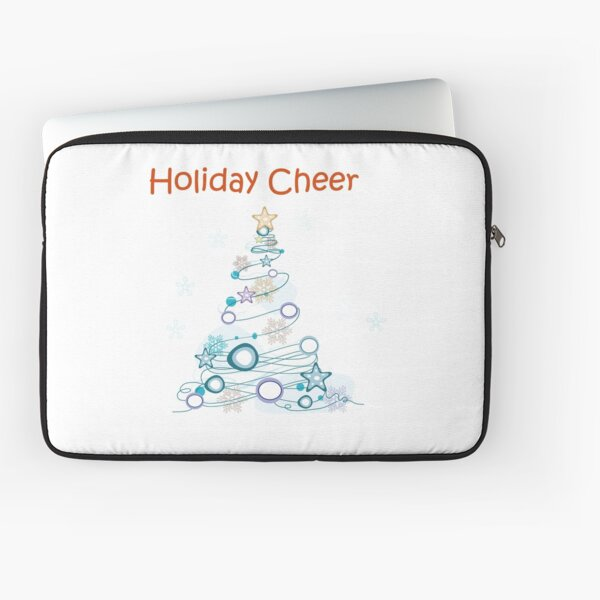 Holiday Cheer Christmas Tree Laptop Sleeve