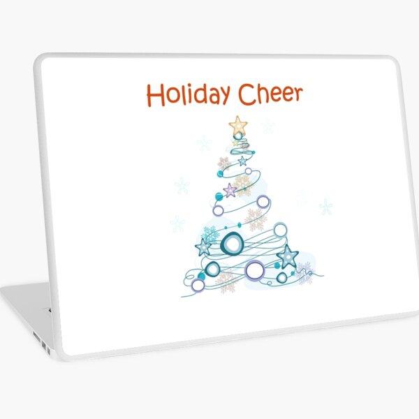 Holiday Cheer Christmas Tree Laptop Skin