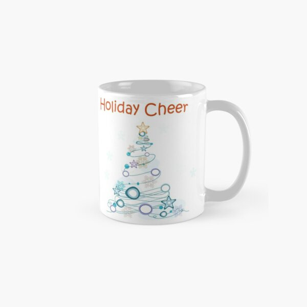 Holiday Cheer Christmas Tree Classic Mug