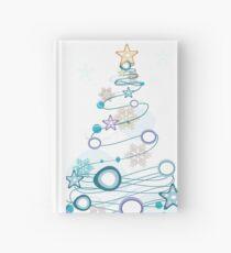 Holiday Cheer Christmas Tree Hardcover Journal