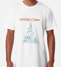 Holiday Cheer Christmas Tree Long T-Shirt
