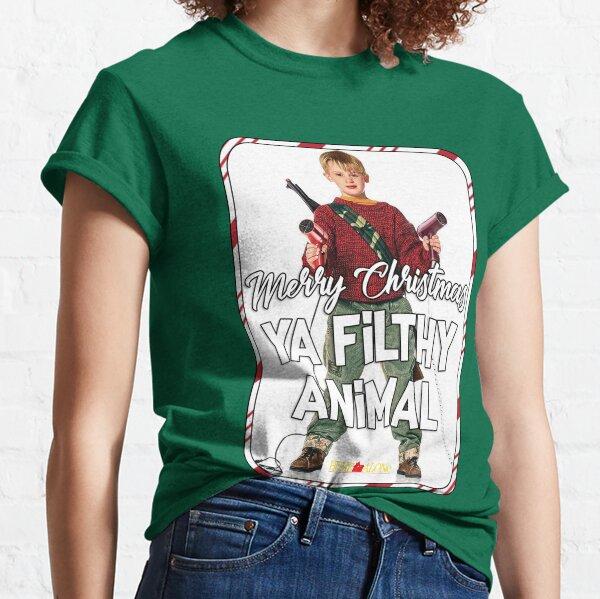 Merry Christmas Ya Filthy Animal Classic T-Shirt