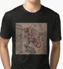 ComicCon Winged Merbunny Tri-blend T-Shirt