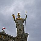 Athena - the Goddess of Wisdom by Lee d'Entremont