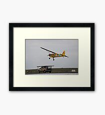 CONTEST: Write Your Own Title For This Quirky Image Framed Print