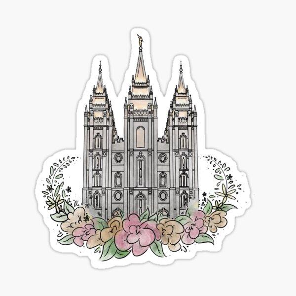 Salt Lake Temple Sticker