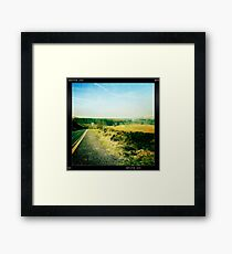 The Road to Belmont Framed Print
