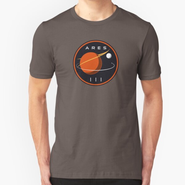 ARES III - The Martian Slim Fit T-Shirt