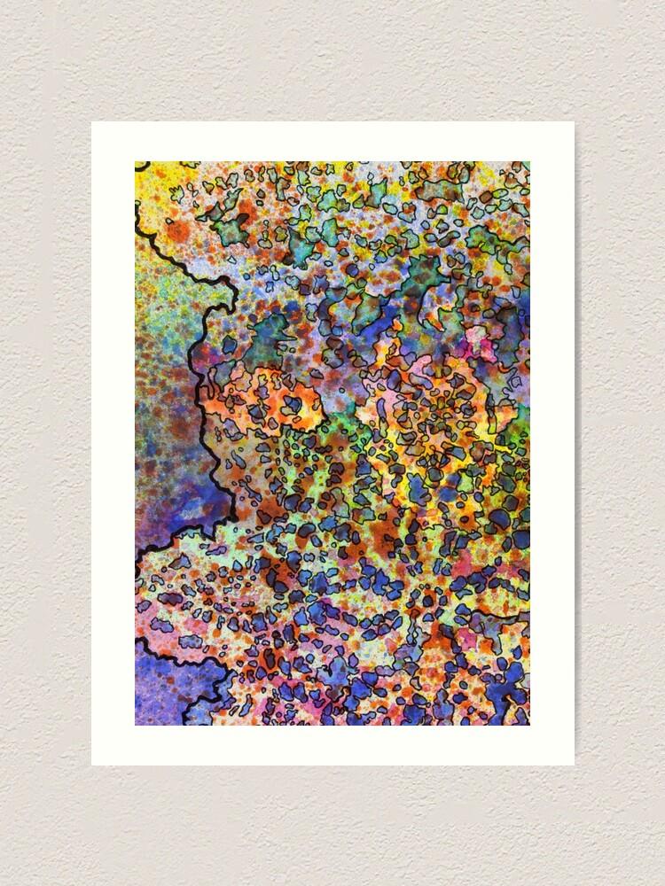Alternate view of 5, Inset B Art Print